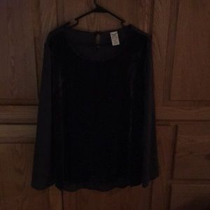 Faded Glory Blouse Size L(12-14)